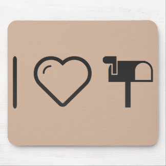 I Heart The Mailboxs Mouse Pad