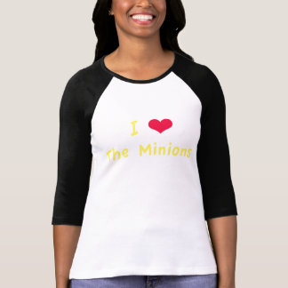 I Heart The Minions Tees