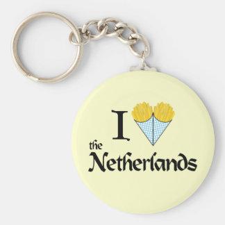 I Heart the Netherlands Keychain