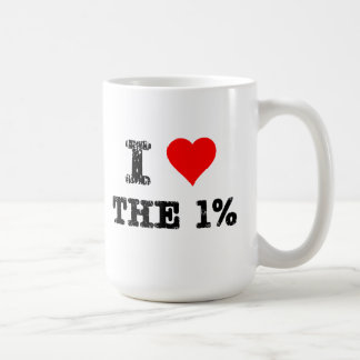 I Heart The One Percent Coffee Mug