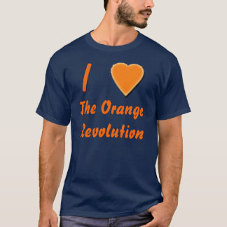 I (heart) the Orange Revolution T-Shirt