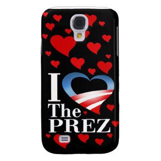 I Heart The Prez (black) Apple 3G iPhone Case Samsung Galaxy S4 Covers