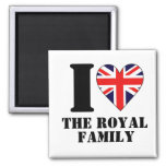 I Heart the Royal Family Magnet