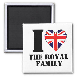 I Heart the Royal Family Magnet