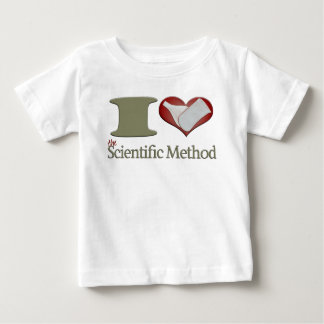 I Heart the Scientific Method Baby T-Shirt