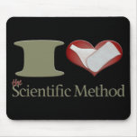 I Heart the Scientific Method Mouse Pad