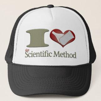 I Heart the Scientific Method Trucker Hat