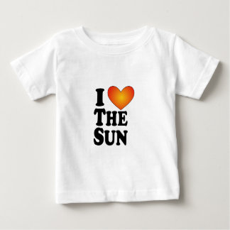 I (heart) The Sun - Lite Multi-Products Baby T-Shirt
