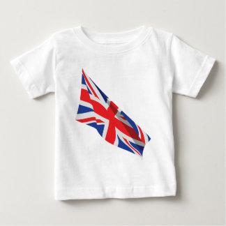 I Heart the UK/Union Jack Flag Infant T-shirt