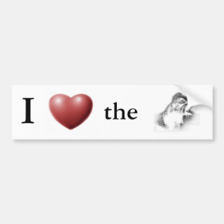 I *Heart* the Ymir Bumper Sticker