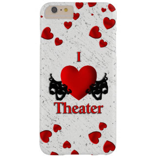 I Heart Theater Barely There iPhone 6 Plus Case
