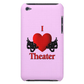 I Heart Theater Barely There iPod Cover