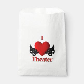 I Heart Theater Favor Bag