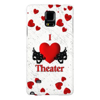 I Heart Theater Galaxy Note 4 Case