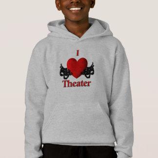 I Heart Theater Hoodie