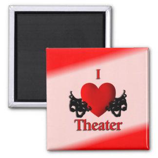 I Heart Theater Magnet