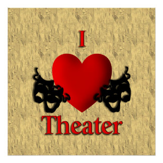 I Heart Theater Poster