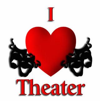 I Heart Theater Statuette