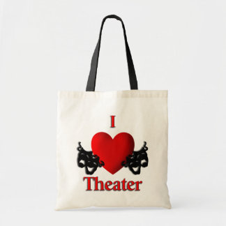 I Heart Theater Tote Bag