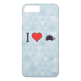 I Heart Tiny Rodents iPhone 7 Plus Case