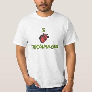 I heart tjandsarah.com t shirt
