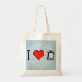 I Heart To Be Connected Tote Bag