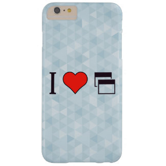 I Heart To Be Heard Barely There iPhone 6 Plus Case