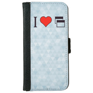 I Heart To Be Heard Wallet Phone Case For iPhone 6/6s