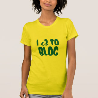 I Heart To Blog Shirts
