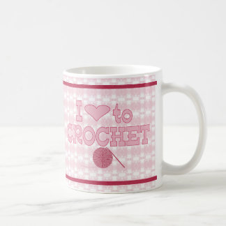 I heart to Crochet Coffee Mug
