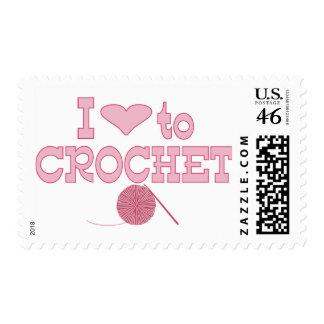 I heart to Crochet Stamp