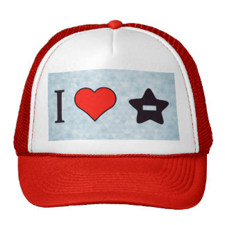 I Heart To Delete Favourites Trucker Hat