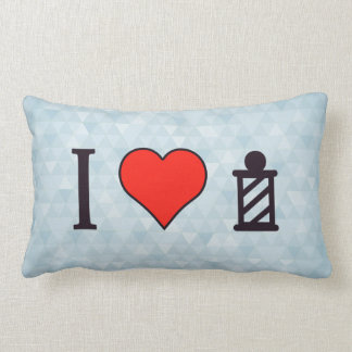 I Heart To Get A Haircut Throw Pillow
