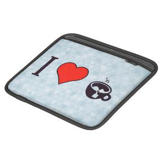 I Heart To Have A Cup Of Tea iPad Sleeve