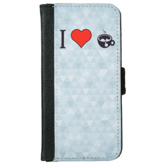 I Heart To Have A Cup Of Tea Wallet Phone Case For iPhone 6/6s