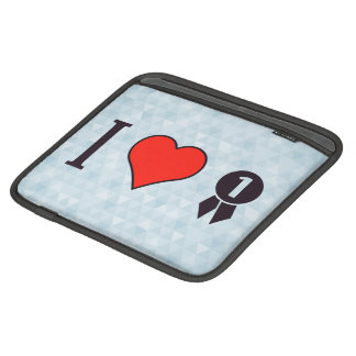 I Heart To Win The Game Sleeve For iPads