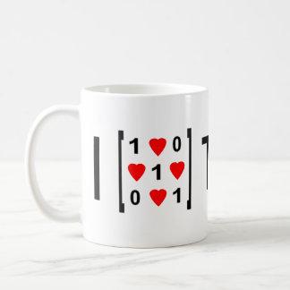 I heart Toeplitz Classic White Coffee Mug
