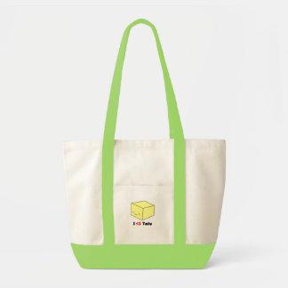 I heart Tofu Tote Bags