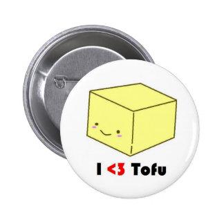I heart Tofu Button