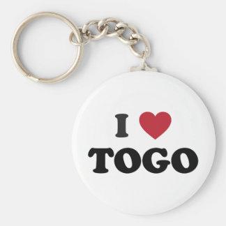 I Heart Togo Key Chain