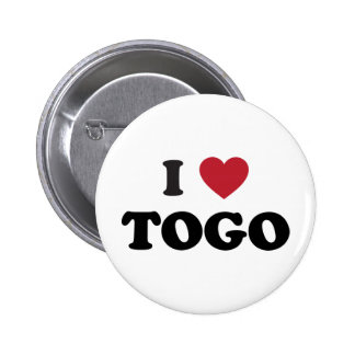 I Heart Togo Pinback Button