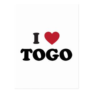 I Heart Togo Postcard