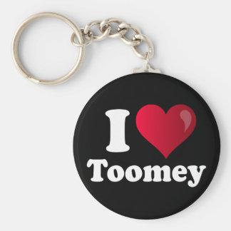 I Heart Toomey Keychain