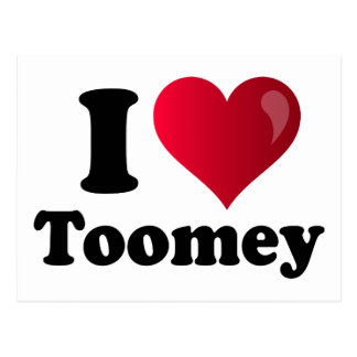I Heart Toomey Postcard