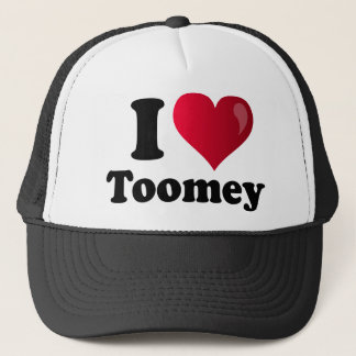 I Heart Toomey Trucker Hat