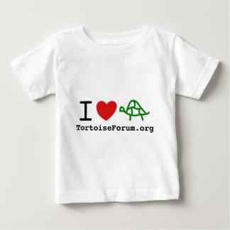 I Heart Tortoises Clothing Infant T-Shirt