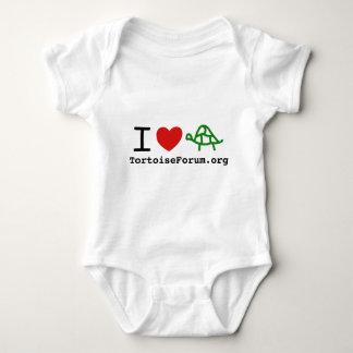 I Heart Tortoises Infant Creeper