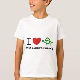 I Heart Tortoises Kids T-Shirt