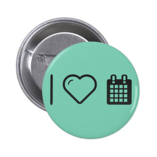 I Heart Tour Events 2 Inch Round Button