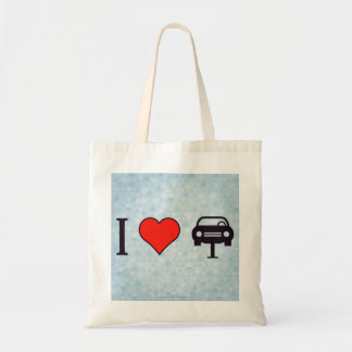 I Heart Towing Cars Tote Bag